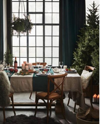 janiszewska-marta-blog-rudachata-wnętrza-home staging-nieruchomości-suwałki-świąteczne propzycje wnętrzarskich sieciówek-duka-zielona dekoracja stolu