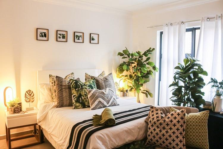 janiszewska marta-suwałki-nieruchomości-przytulna sypialnia-jak ją urządzić-rośliny wsypialni