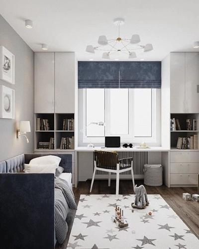 ruda chata-blog-funkcjonalna sypialnia-ergonomia wmieszkaniu-pokój dziecka-pokój chłopca-sypialnia dziecięca