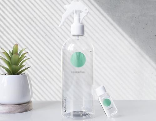 ruda chata-blog-jak wykorzystać ocet-sposób na sprzatanie-butelki na płyn do czyszczenia