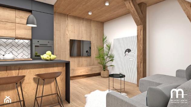 ruda chata-blog-aranżacje ściany ztv-ściana zdrewna-deski naścianie-panele podłogowe naścianie
