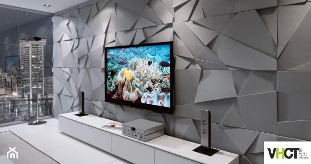 ruda chata-blog-aranżacje ściany ztv-panele ścienne 3D-panele zbetonu architektonicznego