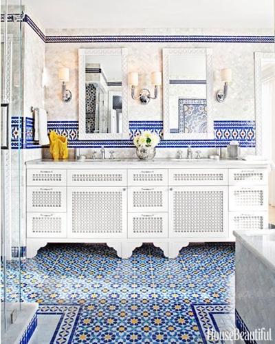ruda chata-blog-styl afrykański-łazienka wstylu marokańskim