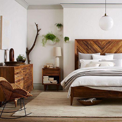 ruda chata-blog-styl afrykański-sypialnia wstylu afrykańskim-naturalne drewno-drewniany zgłówek