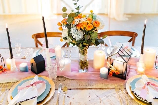 ruda chata-blog-wiosenne iwielkanocne dekoracje domu-świece