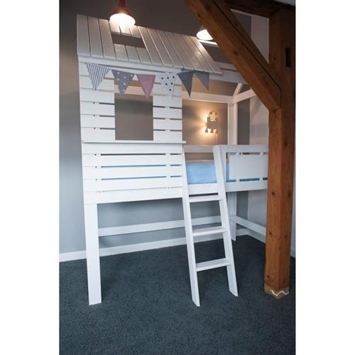 ruda chata-blog-łóżeczko dla dziecka-drewniane-lozeczko-domek-dla-dzieci-antresola